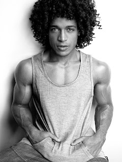 Black Men with Curly Hair