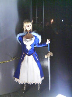 Karen Saber - Fate stay night Cortecia de: Tetsu