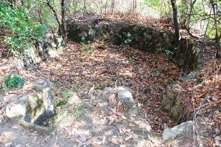 二葉山の高射砲跡の写真