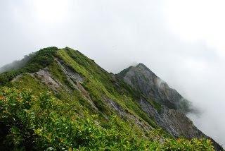 大山山頂の眺め