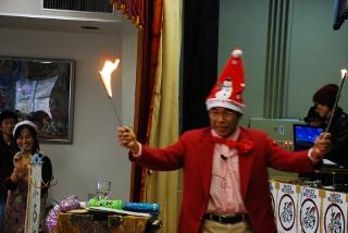 炎のマジシャンの写真