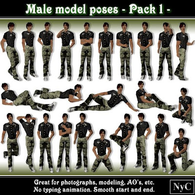 how to make poses second life