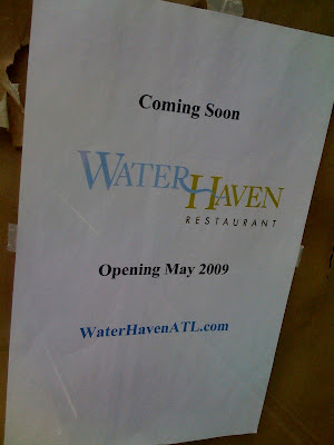 WaterHaven Opening by Georgia Tech, Mid May! ~ RepeatATLANTA.com