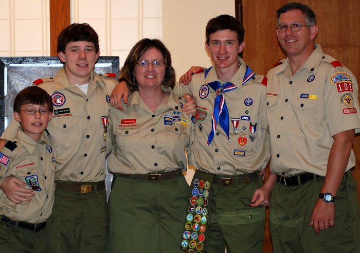Cody's Eagle Scout Ceremony