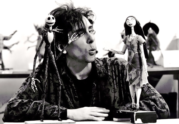 burton introduces the now famous jack and sally in the nightmare before christmas this movie was created by tim burton in 1993 this was one of tim burtons - Tim Burtons The Nightmare Before Christmas