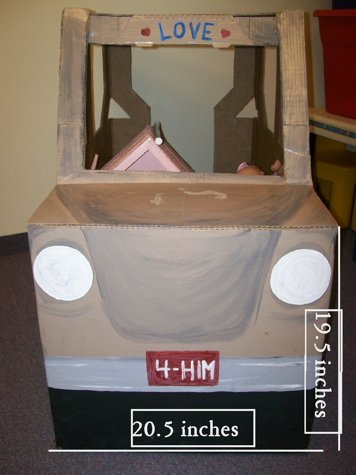 how to make a jeep with cardboard