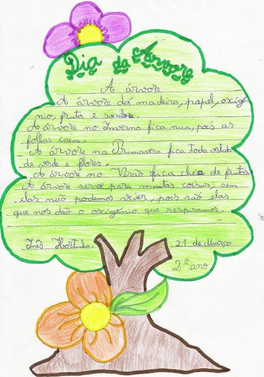Ensc Notícias O Dia Da árvore é Lembrado Pela Ensc E Seus Alunos
