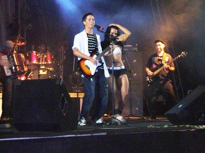 parque, além de Rudney Amorim, Banda Sanriá e os Três do Cariri