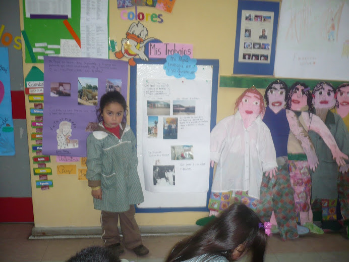 """Javierita presenta """"el trabajo de su papá y lo que quiere ser cuando grande"""
