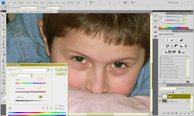 change eye colour in photoshop cs4