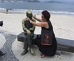 Bien à côté de Drummond, encore à RIO