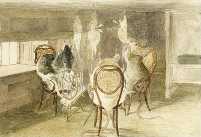 Beatrix Potter - Three Little Mice Sat Down to Spin