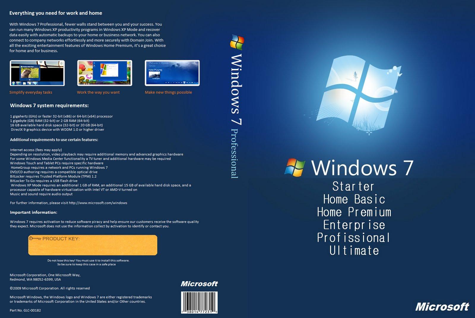 Windows 7 Todas as Versões Original PT-BR Atualizado Agosto 2012 Prodfgdgfessional