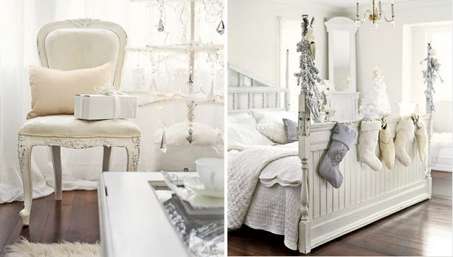 The Wedding Decorator: A White Shabby Chic Christmas