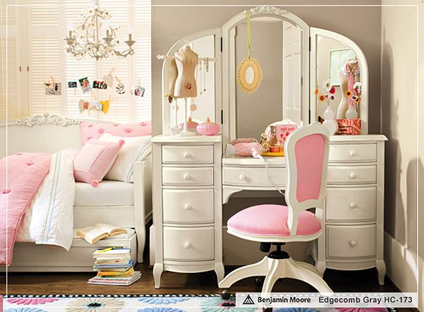 PB Teen Girl Rooms