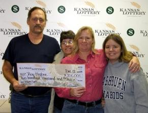 Roy Higbee - Kansas Powerball Winner