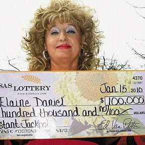 Elaine Daniel - Alabama Lottery Winner