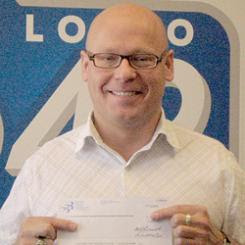 Kevin Smith - Bald 649 Lottery Winner From Winnipeg Manitoba