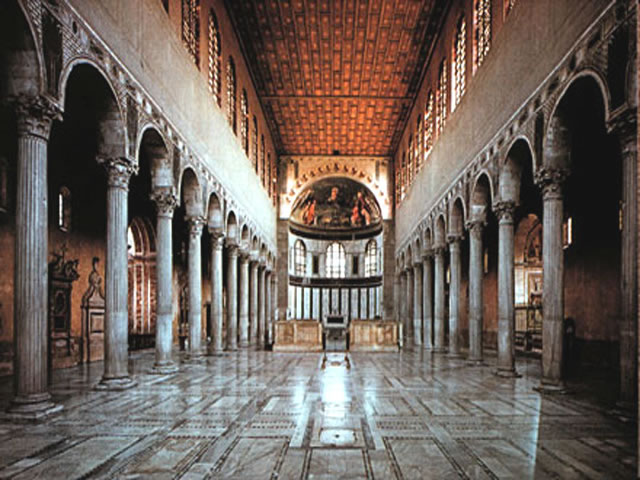 Rome4u இ Roma x te = Rome for you guided tours Contact us ... Santa Sabina Interior