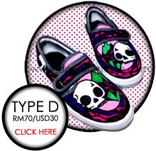 click here for more Type D shoes