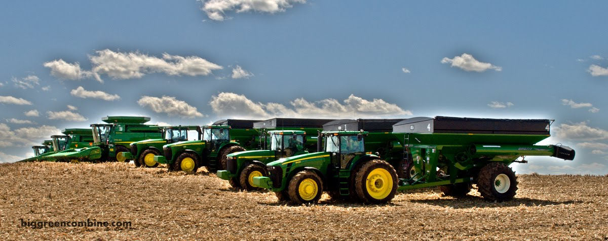 Guess How Much John Deere Green Is In This Field
