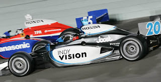 joost tv sulle auto del campionato Honda IRL Racing