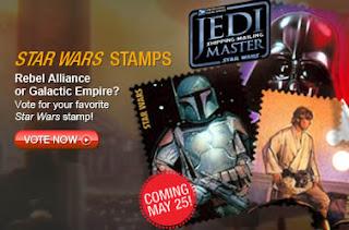 francobolli star wars realizzati da USPS le poste Usa