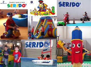 la fiera Seridò per un divertimento assicurato dei bambini