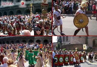 il compleanno della città di Roma - Sfilata storica 2007