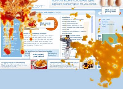 Food fight, la battaglia sullo schermo con il sito internet creativo