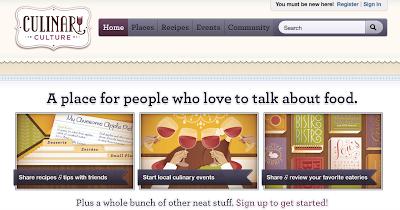 un esempio di un ottimo sito dedicato all'arte culinaria