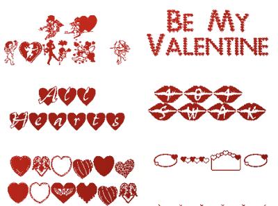 risorse grafiche per San Valentino