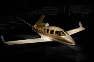 l'aereo jet personale del futuro. Volare con classe e semplicità
