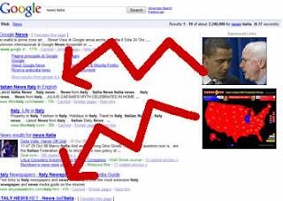 google serp impazzita. Effetto elezioni americane?