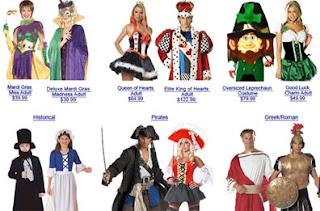 costumi di carnevale di ogni tipo. I migliori siti internet disponibili online