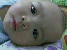umur 3 bulan - pas cukur jambul