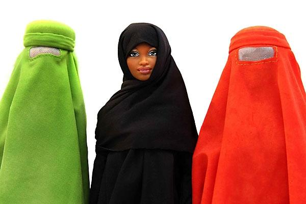 fashionsemmerl burka barbie. Black Bedroom Furniture Sets. Home Design Ideas
