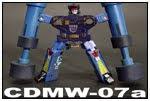 カセット・ロボット装備  CDMW-07a