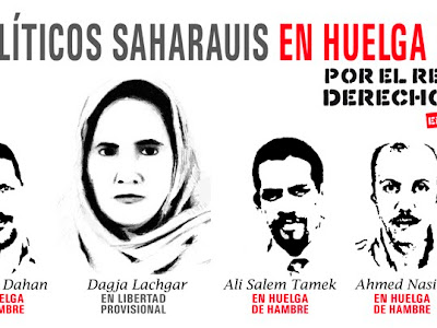 CAMAPAÑA INTERNACIONAL DE APOYO A LOS PRESOS POLÍTICOS SAHARAUIS EN HUELGA DE HAMBRE
