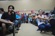 Manifestação na câmara de Aracruz