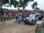 """Batalhão de Missões Especiais chega ao acampamento """"Nova Esperança"""""""