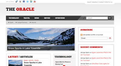 pliablepress oracle PliablePress Went Live With Chameleon Framework And Many Themes