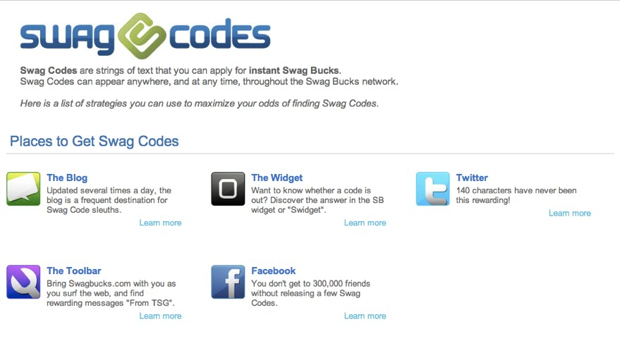 Swagbucks+codes