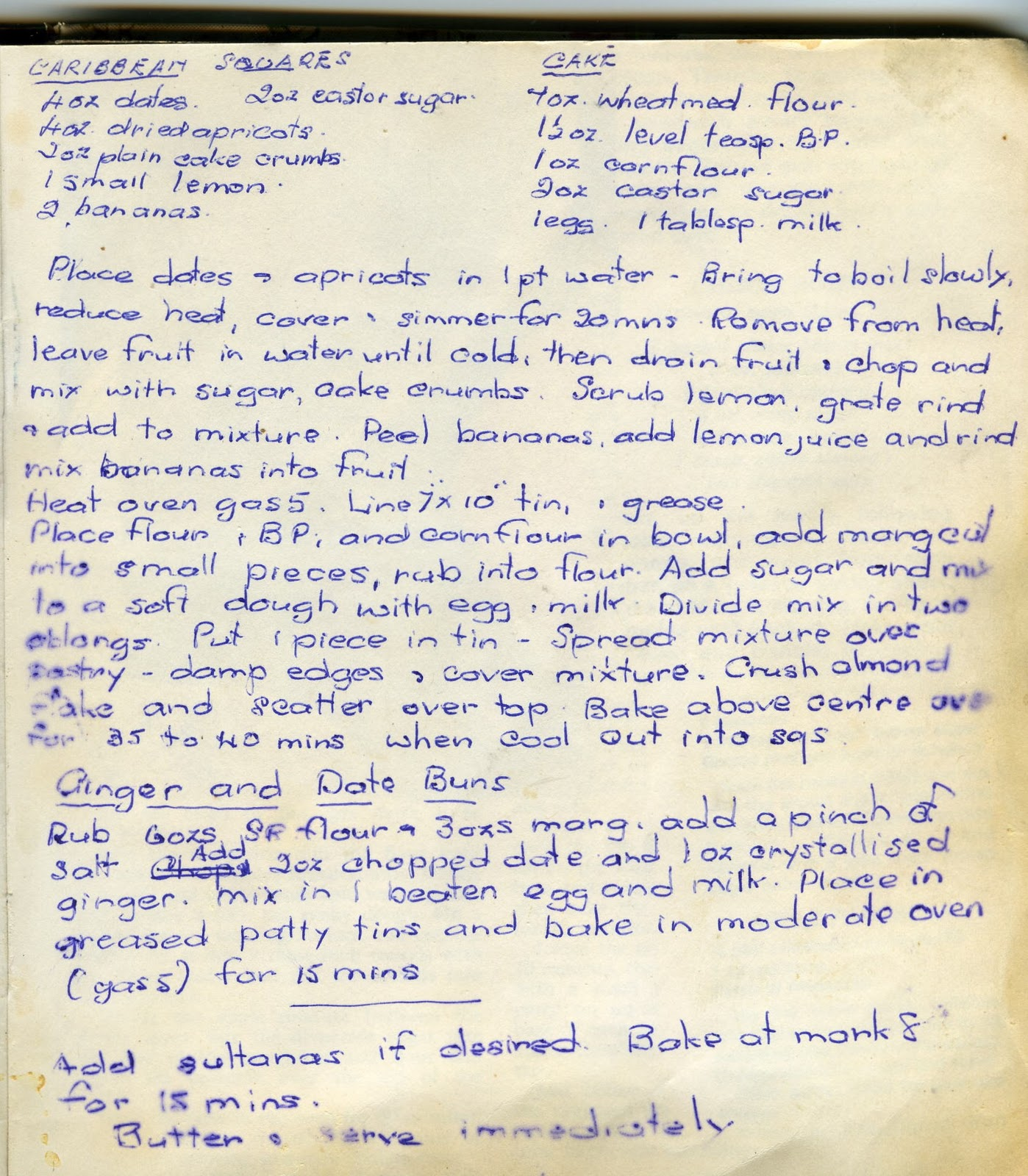 Bero Book Christmas Cake Recipe