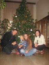 Los tres con Dani
