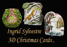 Ingrid Sylvestre 3D Christmas Cards