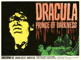 Dracula Prince of Darkness film poster
