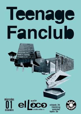 Crónica concierto TEENAGE FANCLUB 1-12-2010