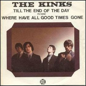 disco THE KINKS - Till the end of the day