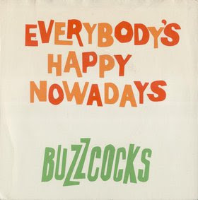 disco BUZZCOCKS - Everybody's Happy Nowadays